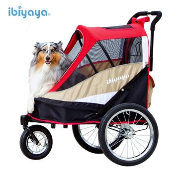 ◆IBIYAYA依比呀呀◆二代兩用寵物推/拖車【FS980】紅