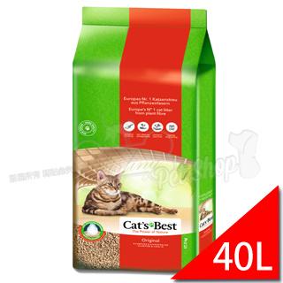 凱優CAT'S BEST˙快速凝結木屑貓砂【40L】