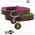 狗日子《Bobby》法式優雅項圈 簡約線條 描繪優雅情調 55cm-桃、綠