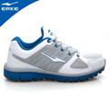 ERKE 鴻星爾克-男運動常規慢跑鞋-正白/彩藍