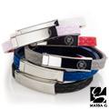 MASSA-G Color For 【W】ing 專色之翼鍺鈦手環(經典色系)