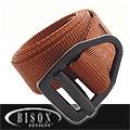 BISON DESIGNS™毒蛇V型扣腰帶#543MQ