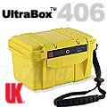 UK美國ULTRA BOX 406黃色含襯防水箱 #08211