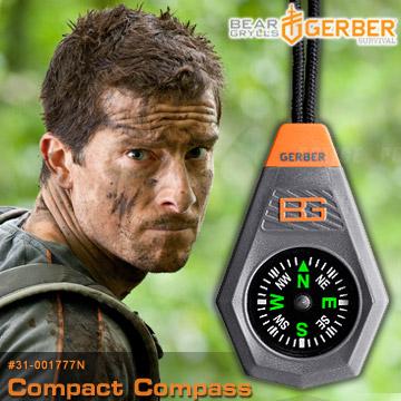 GERBER Bear Grylls Compact Compass 貝爾系列指北針