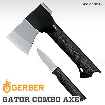 GERBER GATOR COMBO AXE  鱷口式結合斧頭附刀組