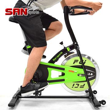 【SAN SPORTS】M4神采10KG飛輪健身車