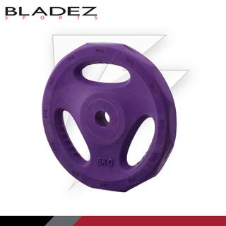 【Bladez】彩色包膠槓片 5KG(一入)