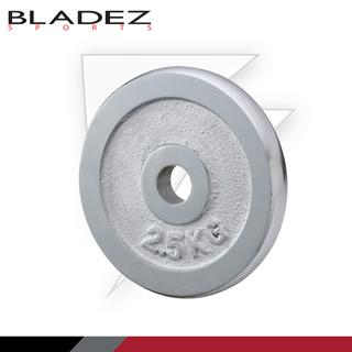 【BLADEZ】電鍍槓片2.5KG(兩入)