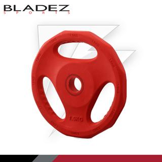 【BLADEZ】彩色包膠槓片 1.5KG(兩入)
