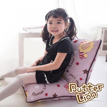 【奶油獅】正版授權-和室房必購-搖滾星星和室椅-淡紫