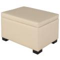 (LILY) 珠光粉掀蓋收納椅(寬61公分)