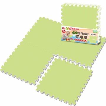 LOG樂格 粉彩環保巧拼墊-田園綠