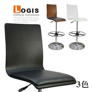 020B0X炫感曲木高腳皮墊事務椅/電腦椅/吧台椅(三色)