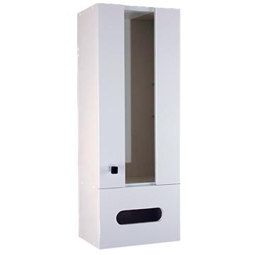 《Alapa》白色時尚收納櫃(右開)