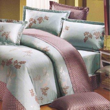 【法式寢飾花季】典雅風情-雙人純棉七件式床罩組(詩情花意#3093)