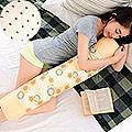 【凱蕾絲帝】馬來西亞進口純天然長筒乳膠枕(可當抱枕/午睡枕)