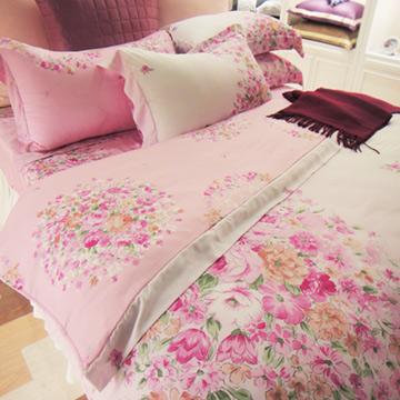 義大利La Belle《甜蜜約定》特大天絲四件式被套床包組