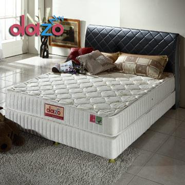 Dazo美式床組[720多支點二線記憶膠獨立筒+格拉姆床台]-單人尺寸