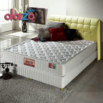 Dazo美式床組[720多支點二線透氣強化獨立筒+天鵝堡床台]-單人尺寸