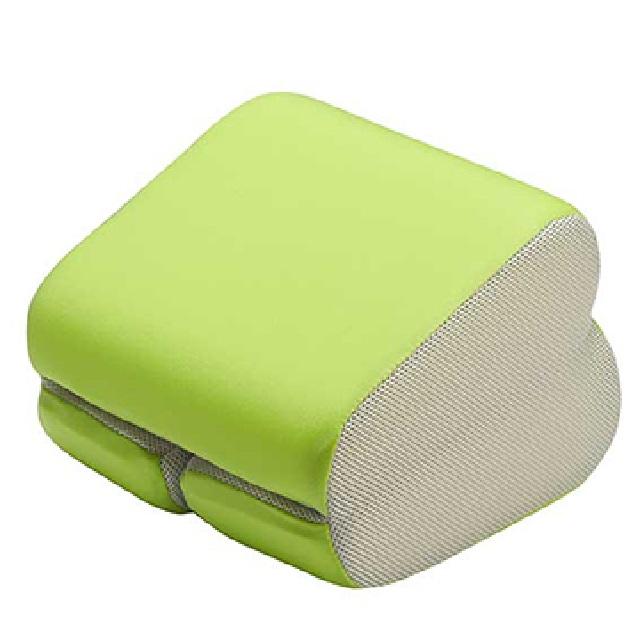 GreySa 格蕾莎 折疊式午睡枕-螢光綠