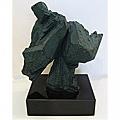 *創意時尚歐風*青銅色太極砂岩雕塑