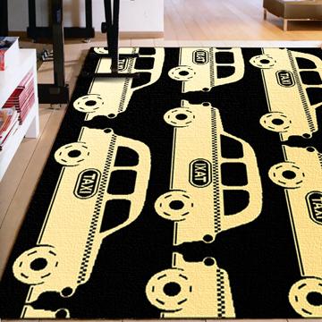 【范登伯格】創世紀時尚地毯-車車(大款)-160x225cm