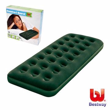 《Bestway》73X30X8.5單人高級植絨充氣床墊