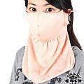 《SNOW TRAVEL》抗UV遮陽護頸透氣口罩 4入(灰色)