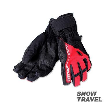 SNOW TRAVEL PRIMALOFT+GTX 防水保暖手套(紅色) STAR062-RED 3200