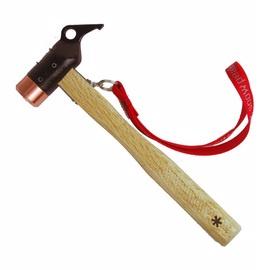 【Snow Peak】 鍛造強化銅頭營槌(Peg Hammer PRO.C).槌子.鐵鎚.木槌.露營.戶外必需品# N-001