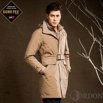 【JORDON】 城市商務男款 GORE-TEX+鵝絨二合一外套 1959