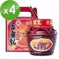 【丸莊醬油】陳釀豆腐乳禮盒(1000g/瓶)x4瓶組