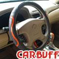 CARBUFF 車痴富貴吸汗牛皮方向盤套 (MH-9002)