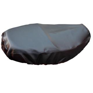 omax新一代防熱黑色原皮機車坐墊套