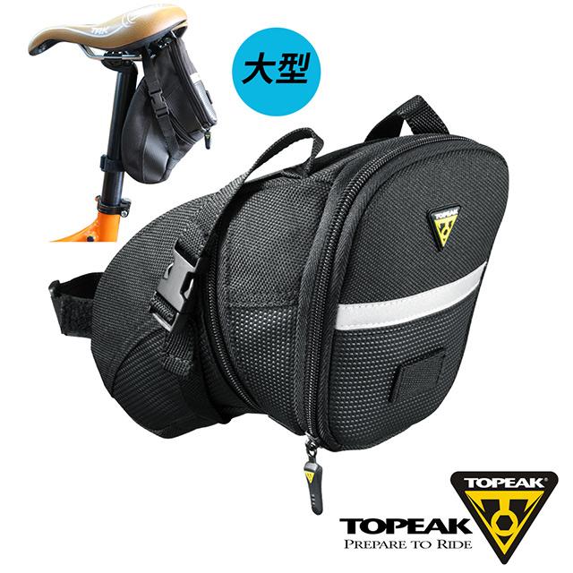 TOPEAK Aero Wedge Pack Large後座墊袋_黑