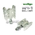 《WELLGO WR-1》蜘蛛專業培林腳踏(銀)