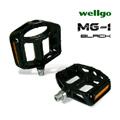 《WELLGO MG-1》鎂合金專業自行車培林腳踏(黑)