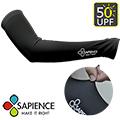 【SAPIENCE】抗UV掌中型專業防曬袖套-黑色