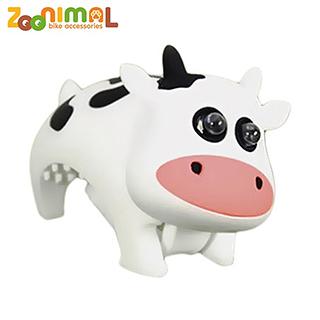 【ZOONIMAL 】 可愛動物LED單車用前燈 呆乳牛
