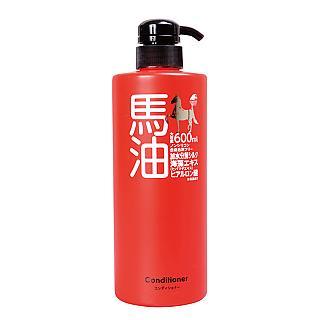 日本UNIMAT RIKEN馬油潤絲精600ml