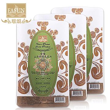 【FASUN琺頌】鎖色洗髮乳‧山葵根柔順-補充包超值3件組