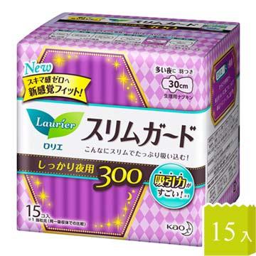 日本KAO速吸超薄碟翼衛生棉30cm-15枚