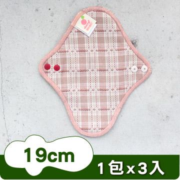 櫻桃蜜貼 彩棉布護墊 19cmX3片
