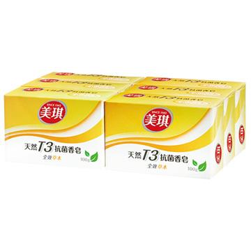美琪天然T3抗菌香皂-全效草本100g*18