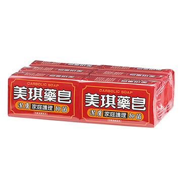 美琪 藥 皂(100g x 六入裝)