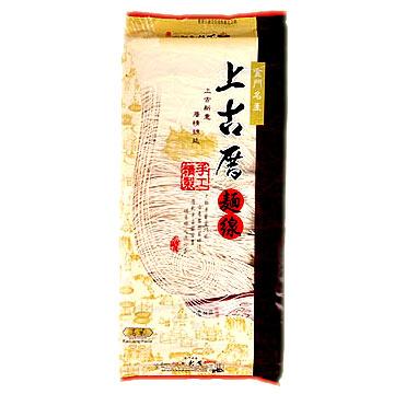 《聖祖食品》上古厝手工麵線-高梁(400g)