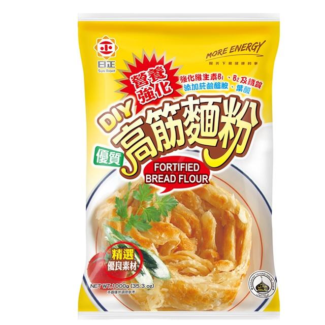 《日正》營養強化高筋麵粉1000g
