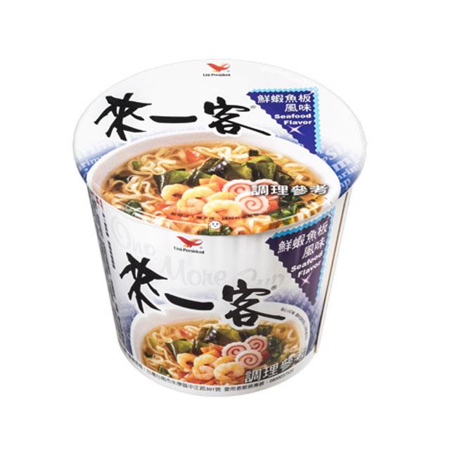 來一客杯麵_鮮蝦魚板風味麵 (12杯/箱)