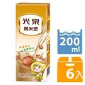 光泉醇米漿200ml(6瓶/組)