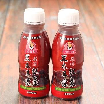 【五福】紅棗黑木耳露(350ml*24入/箱)